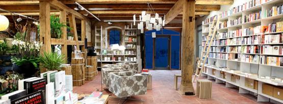Buchladen in der Rainhof Scheune