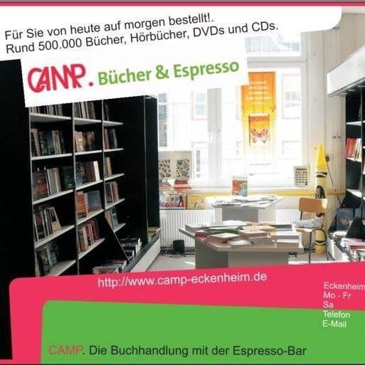 CAMP. Bücher & Espresso